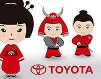 Mascota Publicitaria para Toyota Margarita