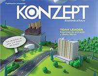 Konzept - Magazine