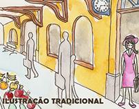 Ilustração - Tradicional