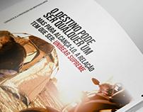 Anúncio Revista. Design, criação e redação publicitária