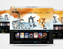 Web Banner - The Legend of Sarila for SNAPTV