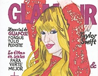 Illustration Cover of Glamour