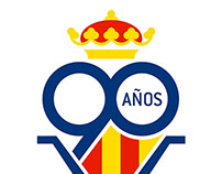 Proyecto logotipo 90 años Villarreal Club de Fútbol