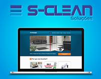 Logo + Web Site Spa Clean Soluções