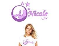 Logo Nicole Chic Moda feminina