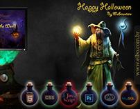 Happy Halloween. Feliz 31 de Outubro aos webmasters.