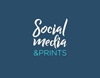 Social Media & Prints