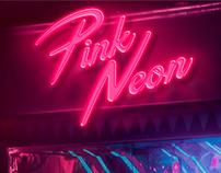 Pink Neon Studio Brand desing