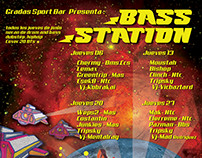 Flyer/Poster para BASS STATION