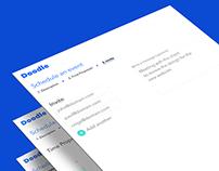 Doodle UI redesign