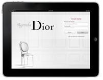 Diseño UI iPad App - Agenda Dior
