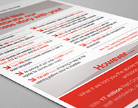 Red Cross, Flyer