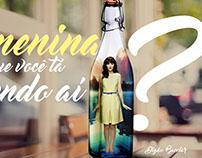 A garota da garrafa