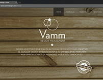 Sitio web VammDesign