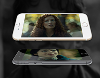 Concept of movie to iPhone