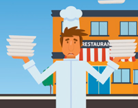App Promotional Video - Video Promocional Restaurant.pe