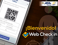Aerolínea ADA - Web Check In