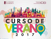 Campaña Curso de Verano 2017 | El Colegio de México.