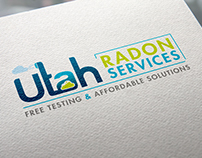 Create a clean feeling yet logo for Utah Radon Services