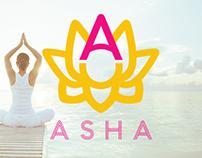 Branding Asha Yoga
