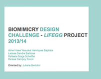 LIFEGG // Biomimicry Design Challenge (2013/14)