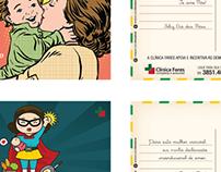 Cartão Comemorativo: Dia das Mães e dos Pais