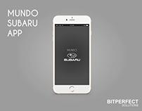 App Design - Mundo Subaru