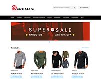 Quick Store - Web Site