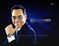 Web Salvador Camero