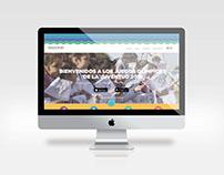 Landing Page Juegos Olímpicos de la Juventud