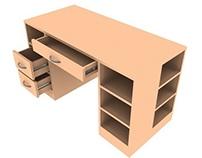 Prototipo de escritorio infantil