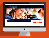 Site e Logo Pós Graduação a distância