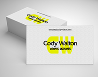 Cody Walton Business Card