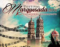 Diseño Ganador de cartel oficial para Marquesada 2014
