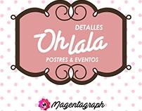 Logotipo de Oh Lala Detalles Postres & Eventos