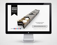 Premium Eggs Pack Landing Page