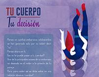 "Campaña ""Abraza tu futuro"" - Afiches/Cuestionarios"