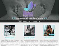 Diseño de Sitio Web de Mamá Emprendedora