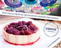 La Quiche - Mídia Online - Teaser Inauguração Franquia.