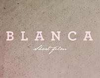 Blanca// short film - titles design