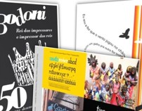 Cartazes tipográficos