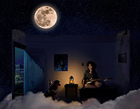 """Dream #96"" creative retouching"