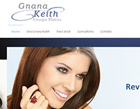 Site Institucional Médica - Gnana Keith