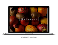Kiwanos - Branding - Home Page