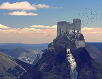 Matte Painting Castle