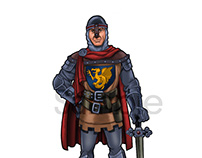Medieval character for game