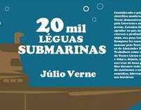 Capa de Livro - Júlio Verne