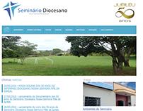 Estruturação Site Seminário Diocesano