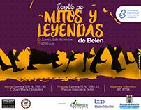 Desfile de Mitos y Leyendas // Comfenalco Antioquia