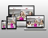Site da D3 Studio de Dança